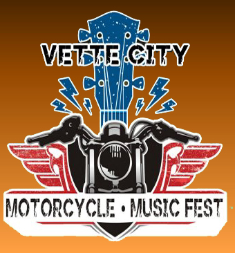 Vette City Motorcycle Music Fest Logo